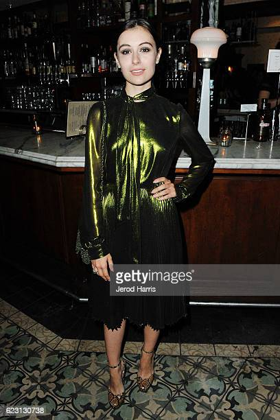 Marta Pozzan attends Wolk Morais Collection 4 Fashion Show at Harlowe on November 13 2016 in West Hollywood California