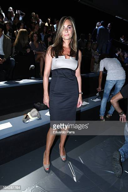 Marta Reyero attends the Cibeles Madrid Fashion Week Spring/Summer 2011 at the Ifema on September 20 2010 in Madrid Spain