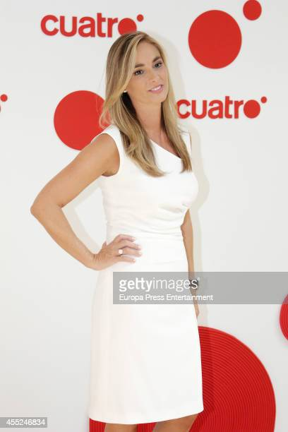 Marta Reyero attends the presentation of new season of Cuatro TV Channel on September 10 2014 in Madrid Spain