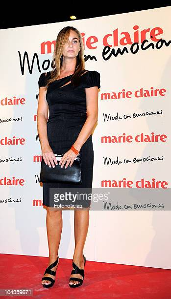 Marta Reyero attends the presentation of the new design of the spanish edition of Marie Claire magazine at the Villamagna Hotel on September 22 2010...