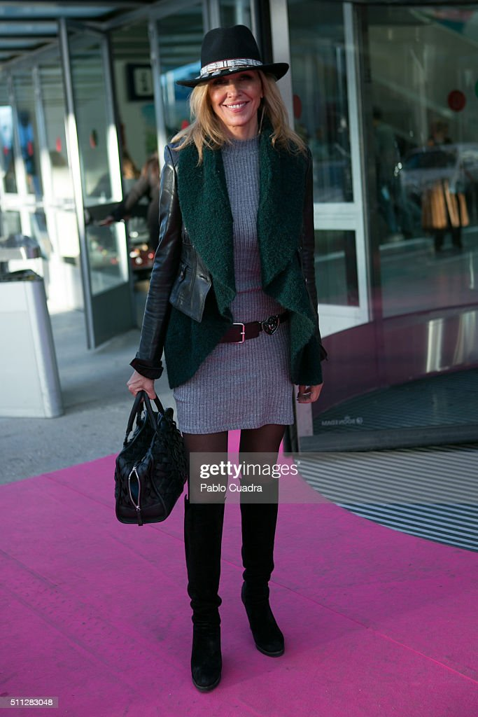 Celebrities - Day 1  - Mercedes-Benz Madrid Fashion Week Autumn/Winter 2016/2017