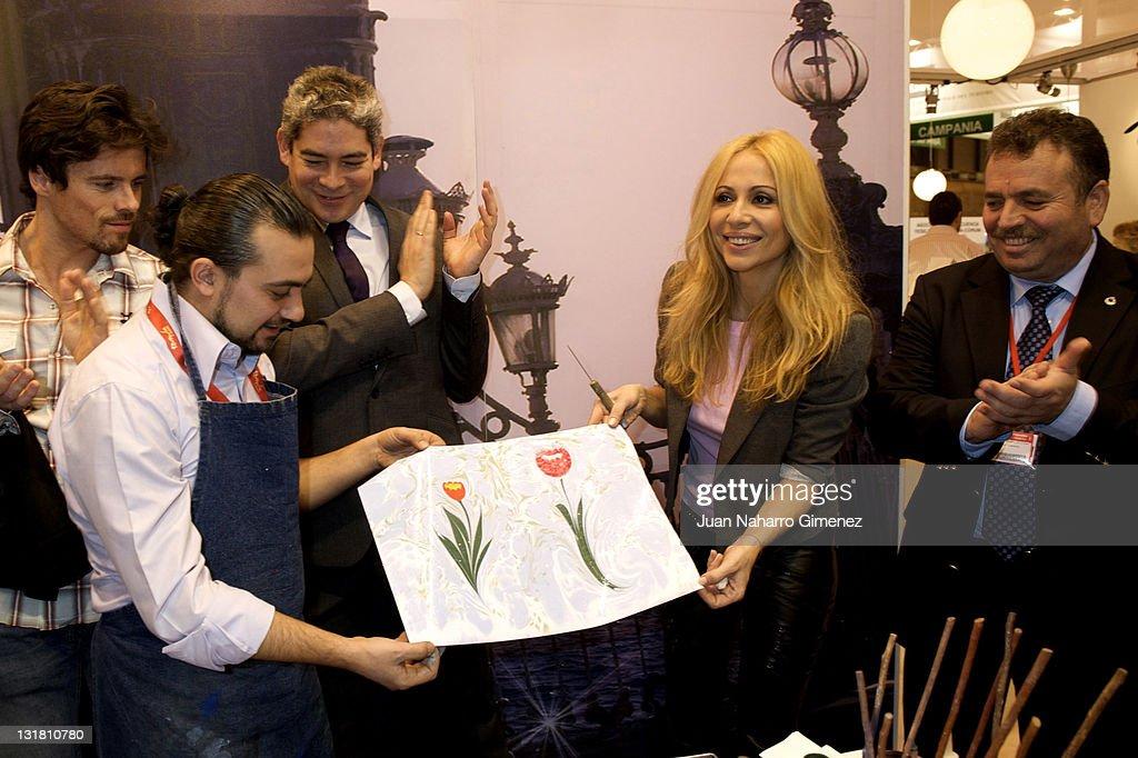 Marta Sanchez and Boris Izaguirre Promote Turkey at FITUR Fair