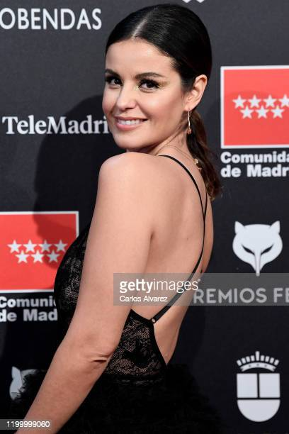 Marta Torne attends Feroz awards 2020 red carpet at Teatro Auditorio Ciudad de Alcobendas on January 16 2020 in Madrid Spain