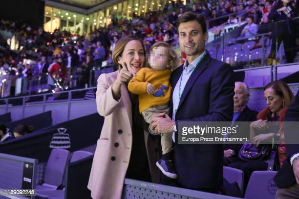 Marta Tornel Leo Ferrer Tornel and David Ferrer attend Copa Davis Finals at Caja Magica on November 20 2019 in Madrid Spain