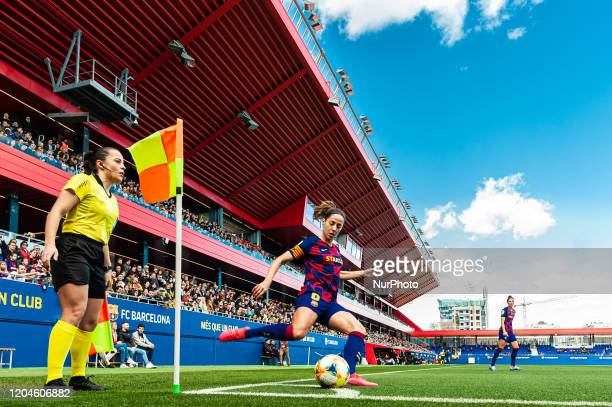 Marta Torrejon during the match between FC Barcelona and Madrid CFF, corresponding to the week 21 of the Liga Iberdrola, played at the Johan Cruyff...