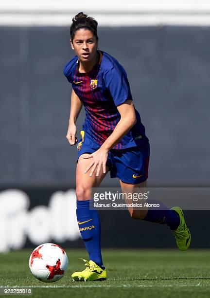 Marta Torrejon of FC Barcelona in action during the Liga Femenina match between Valencia CF Women and FC Barcelona Women at Francisco Puchades...