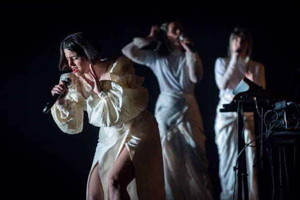 ESP: Maria Arnal And Marcel Bages  Concert In Barcelona