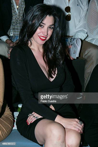 Marta Vaquerizo is seen attending the MercedesBenz Fashion Week Madrid Spring/Summer 2016 at Ifema on September 20 2015 in Madrid Spain