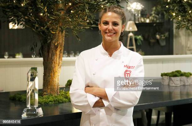 Marta Verona the winner of TV's MasterChef poses for a photo session on July 10 2018 in Madrid Spain