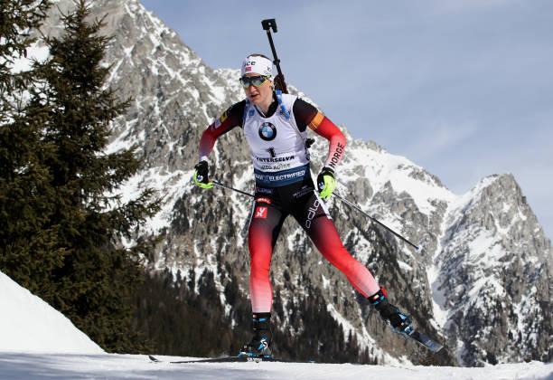 ITA: IBU World Championships Biathlon Antholz-Anterselva - Women 10 km Pursuit Competition