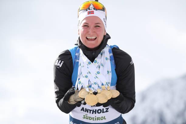 ITA: IBU World Championships Biathlon Antholz-Anterselva - Women 12.5 km Mass Start Competition