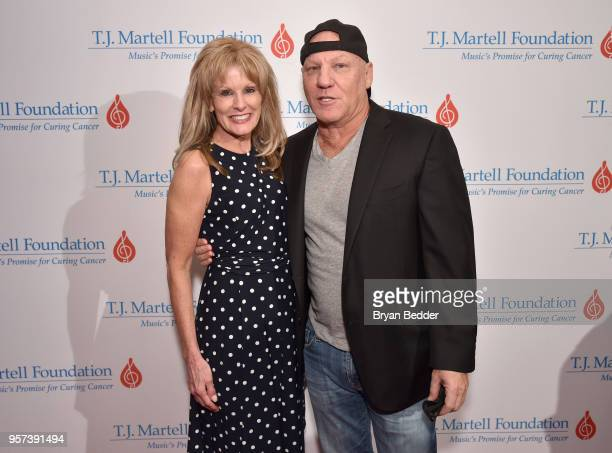 J Martell Foundation CEO Laura Heatherly and Steve Madden attend the 6th Annual Women Of Influence Awards at The Plaza Hotel on May 11 2018 in New...