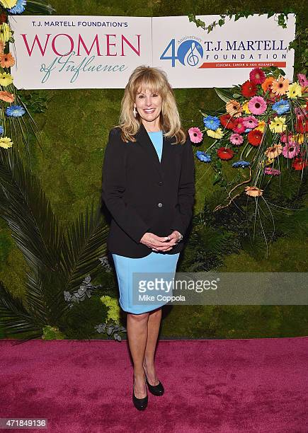 J Martell Foundation Laura Heatherly attends the TJ Martell Foundation's Women of Influence Awards on May 1 2015 in New York City