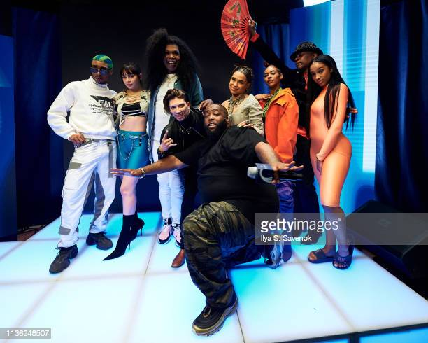 Martell HOME LIVE host Killer Mike and special guests Princess Nokia Javier Ninja Dejiavu Ferguson Archie Burnett and Charli XCX make a statement...