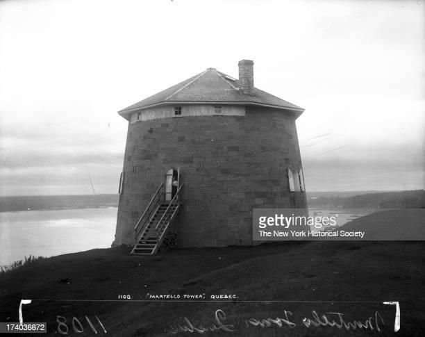 Martello Tower Quebec City Quebec Canada 1890s