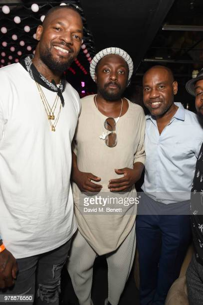 Martellus Bennet William and Unik Ernest attend the Vast Digital and The Foundry @ Meredith Corp creative challenge during the Cannes Lion Festival...