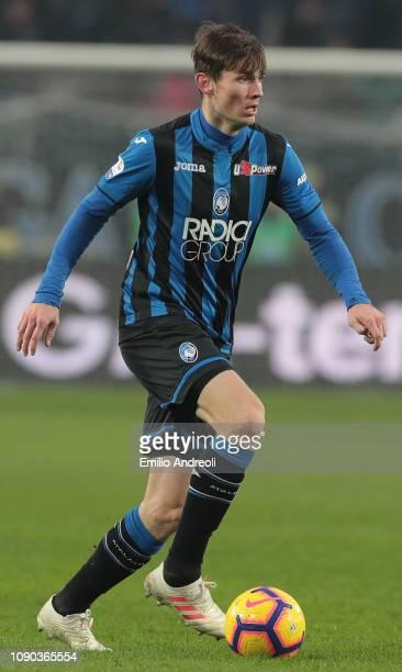 Marten De Roon of Atalanta BC in action during the Serie A match between Atalanta BC and AS Roma at Stadio Atleti Azzurri d'Italia on January 27 2019...