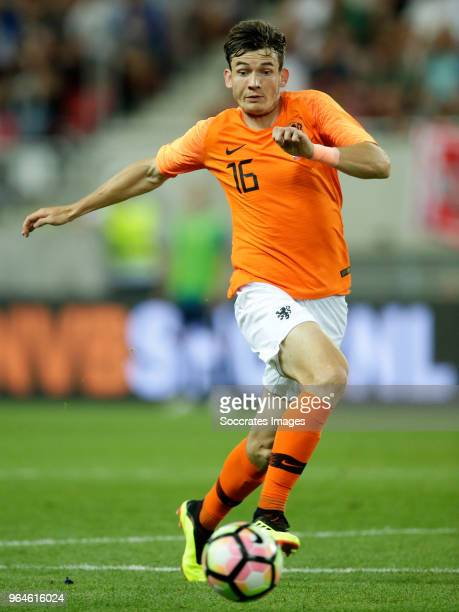 Marten de Roon of Holland during the International Friendly match between Slovakia v Holland at the City Arena on May 31 2018 in Trnava Slovakia
