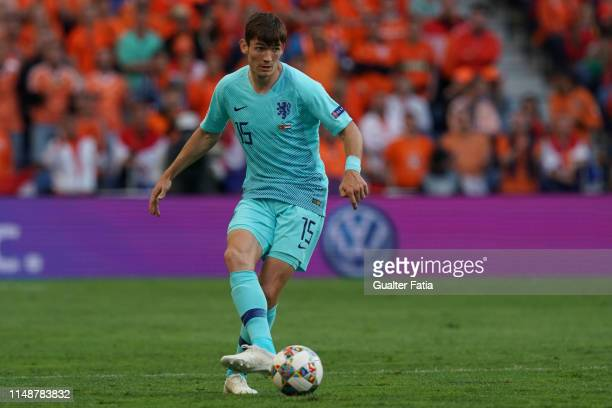 Marten de Roon of Netherlands and Atalanta Bergamasca Calcio in action during the UEFA Nations League Final match between Portugal and Netherlands at...