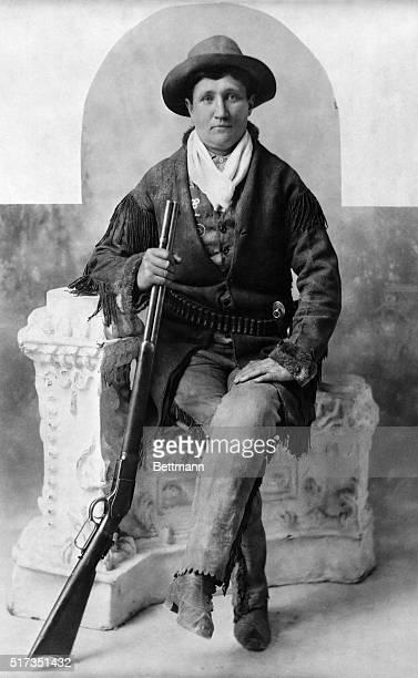 Marth Jane Burke alias Calamity Jane General Crook's scout famed Western markswoman Undated photgraph BPA2# 878