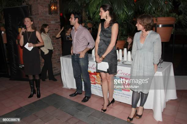 Martha Adams Michael Martin Lydia Fenet and Libby Spears attend House of Lavande Hosts the Nest Foundation Gala at Bowery Hotel on May 1 2009 in New...