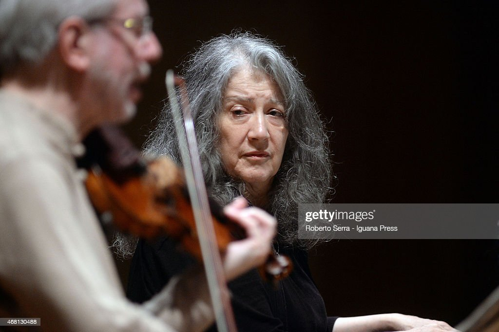 'Argerich - Kremer Duo' Perform in Bologna