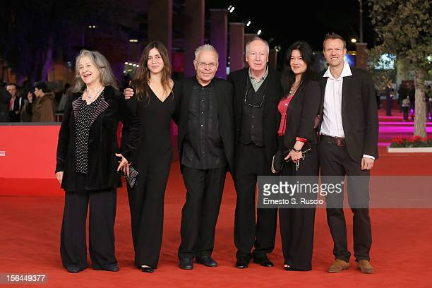 Martha Argerich Stephanie Argerich Stephen Kovacevich Lyda Chen and guests attend the 'Bloody Daughter' Premiere during the 7th Rome Film Festival at...