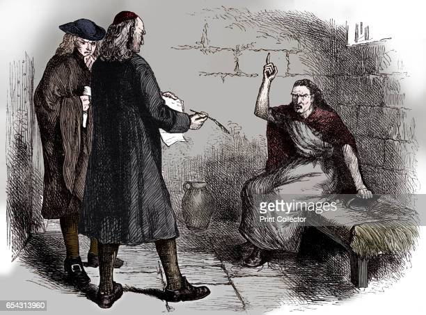 Martha Corey and her prosecutors Salem Massachusetts c1692 Martha Corey was one of the accused at the notorious Salem Witch Trials of 1692 Found...