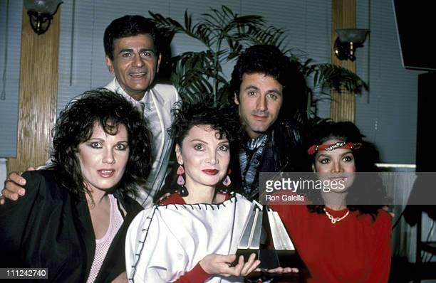 Martha Davis Toni Basil LaToya Jackson Casey Kasem And Frank Stallone