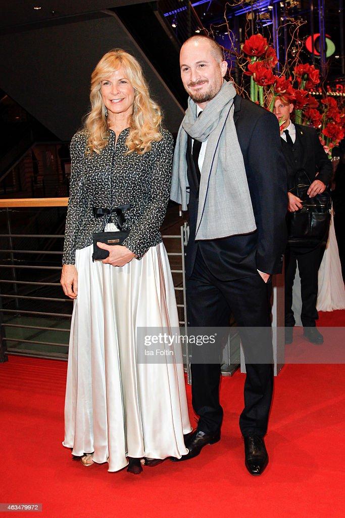 Martha De Laurentiis, Darren Aronofsky attend the Closing Ceremony of the 65th Berlinale International Film Festival on February 14, 2015 in Berlin, Germany.