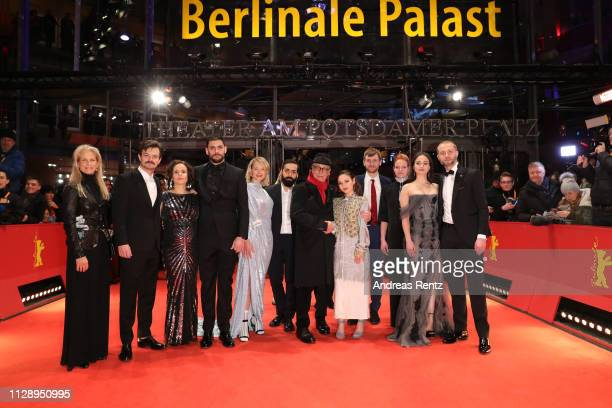 Martha De Laurentiis, Dawid Ogrodnik , Kristin Thora Haraldsdottir , Milan Maric , Ine Marie Wilmann , Ardalan Esmail , festival director Dieter...