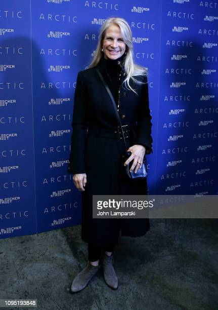 Martha De Laurentis attends Arctic New York Screening at Metrograph on January 16 2019 in New York City