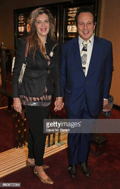 Martha Fiennes and Detmar Blow attend the PORTER Lionsgate UK screening of Film Stars Don't Die In Liverpool at Cineworld Leicester Square on October...