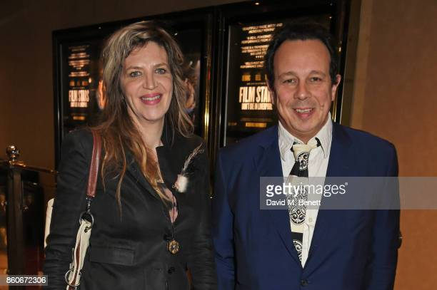 Martha Fiennes and Detmar Blow attend the PORTER Lionsgate UK screening of 'Film Stars Don't Die In Liverpool' at Cineworld Leicester Square on...