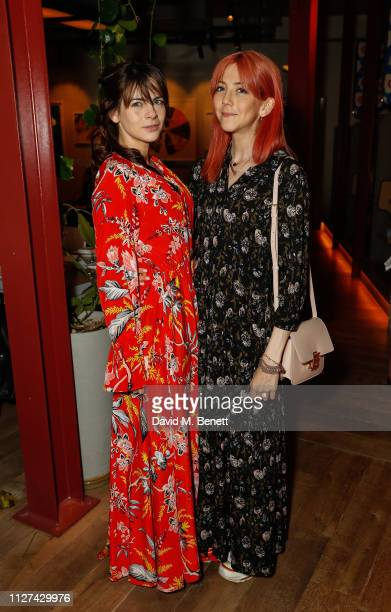 Martha Freud and Scarlett Curtiss attend the For Good Causes dinner in aid of The Big House hosted by Martha Freud and Mika Simmons at the Blue Bird...