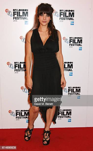 Martha Freud attends the 'Trespass Against Us' screening during the 60th BFI London Film Festival at Vue West End on October 14, 2016 in London,...