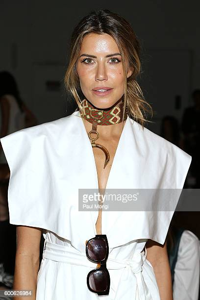 Martha Graeff attends Noon by Noor during New York Fashion Week The Shows September 2016 at The Gallery Skylight at Clarkson Sq on September 8 2016...