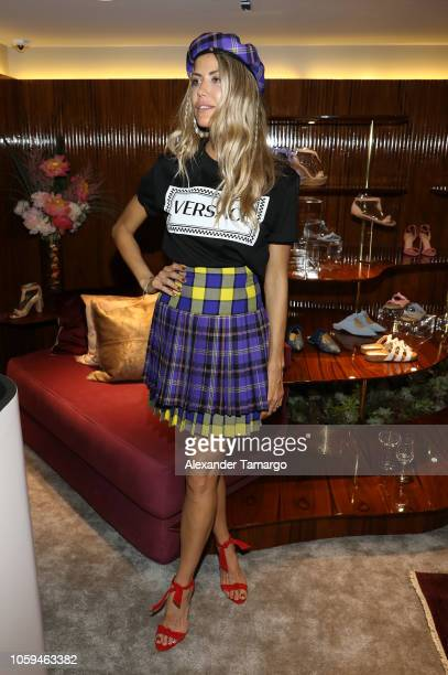 Martha Graeff is seen at the Alexandre Birman Bal Harbor Store Opening Event on November 8 2018 in Miami Florida