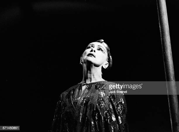 Martha Graham and Company performing 'Clytemnestra' November 14 1965