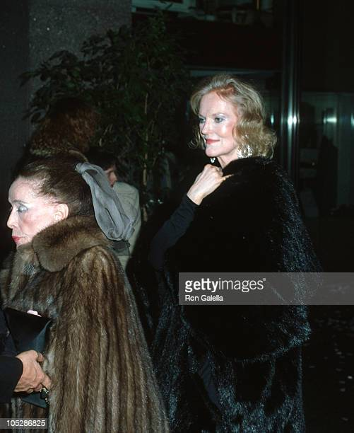 Martha Graham and Doris Duke during Steve Rubell's Birthday Party Hosted by Halston at Olympic Towers in New York City New York United States