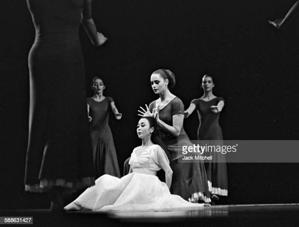 "Martha Graham Company performing ""Primitive Mysteries"" November 6, 1965."
