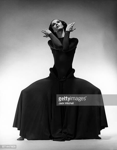 Martha Graham dancer Janet Eilber performing in 1979
