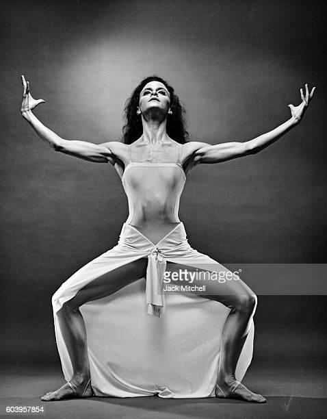Martha Graham dancer Terese Capucilli performing Rite of Spring 1985