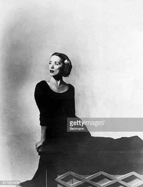 Martha Graham dancer Undated photo