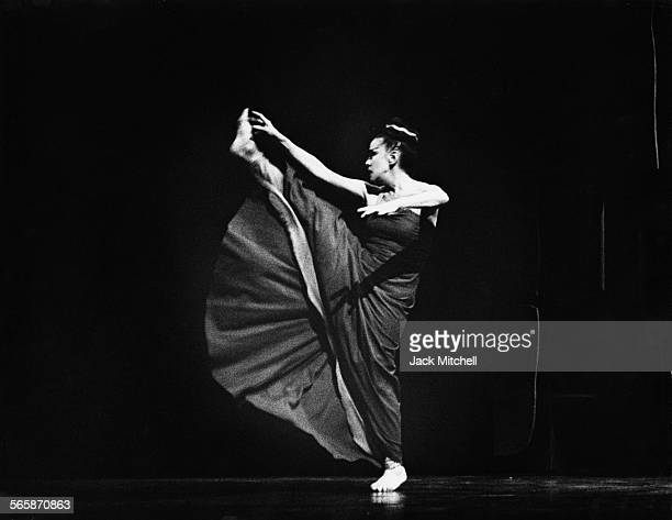 Martha Graham performing 'Phaedra' in 1966 Photo by Jack Mitchell/Getty Images