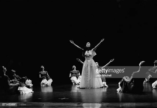 Martha Graham's 'Primitive Mysteries' performance August 1964