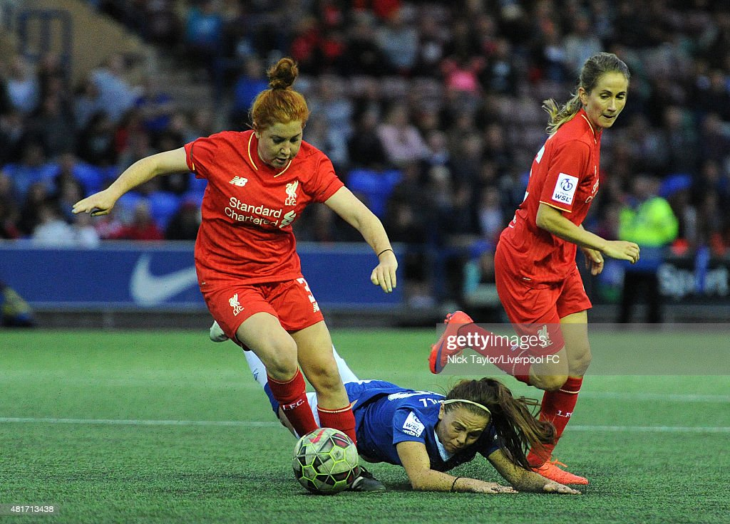 Everton Ladies v Liverpool Ladies: Continental Cup : News Photo