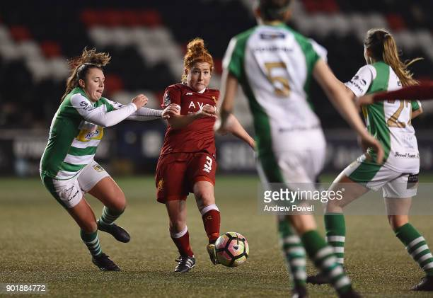 Martha Harris of Liverpool Ladies during the FA Women's Super League match between Liverpool Ladies and Yeovil Town Ladies at Select Security Stadium...