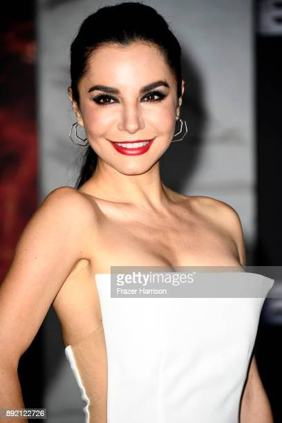Martha Higareda arrives at the Premiere Of Netflix's Bright at Regency Village Theatre on December 13 2017 in Westwood California