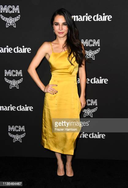 Martha Higareda attends Marie Claire Change Makers Celebration at Hills Penthouse on March 12 2019 in West Hollywood California